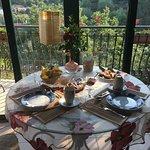 tavolo per la colazione