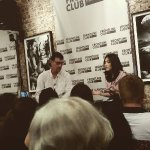 panel discussion at Frontline club