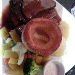 Yummy trad roast