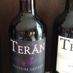 Vin rouge Marqués de Teran, délicieux!