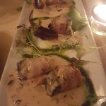 BACON WRAPPED SNAILS FOR STARTERS