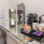 All rooms with hospitality trays and in-room fridge stocked to your individual requirements.
