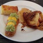 Sweet at the Agung Restaurant