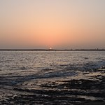 Porbandar Beach Sunset view