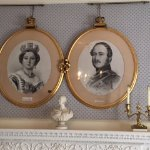 Signed original portraits of Queen Victoria and Prince Albert. Queen Victoria was a frequent vis