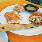 Multi-grain breakfast burrito