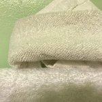 Dirty washcloth