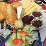 cheese ploughman's , minus the egg I asked for no egg, to was so good,