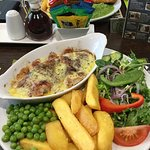 2 for £10 main meals mon-thurs bbq chicken and fish and chips