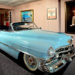 Hank Williams' 1952 baby blue Cadillac
