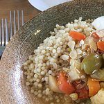 Tagine with giant cous cous
