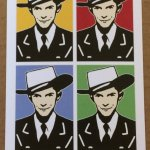4 color post card of Hank Williams