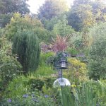 Charming B & B garden, which visitors are welcome to access.