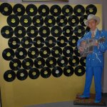 64 of the 78 RPM records of Hank Williams