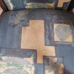 Stühle mit gestrichen / Farbe