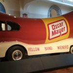 Oscar Mayer weiner mobile. A classic remembered from our childhood.