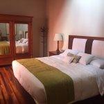 Main bedroom in suite #10 at Casa Hacienda San José