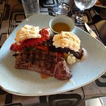 Cibola steak and lobster