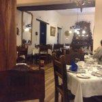 Quaint historic dining room