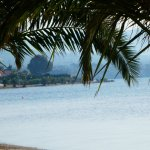 View of the Eretria beach towards Avantis