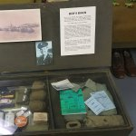 Bob Hope's foot locker from his time stationed at Camp Roberts