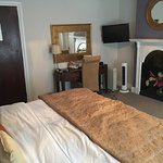 Warm, comfortable and a large comfy double bed