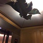 Elevator light fixture that I loved!