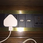 Socket with USB outlets added