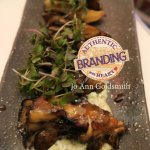 Delightfully Grilled Japanese Mushrooms are a Wonderful Way to Start off Your Dining Experience.