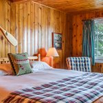 One of our cabin bedrooms