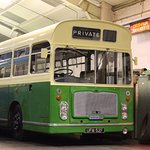 Vintage Buses form a major part of the exhibits on show.