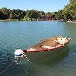 Boats are available for rent during the summer season.