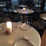 The dining room at Patria