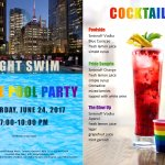 Celebrate PRIDE Weekend poolside with our Night Swim party!