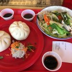 Chill Veggies, Pork Bao