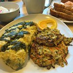Omelette and Veggie Hash