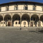 FrontView of the hotel in Piazza della Santissima Annunziata. The view is breathtaking to wake u