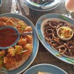 coconut shrimp & calimari