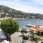 Villefranche port, view from up the hill