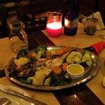 The sea bream plate