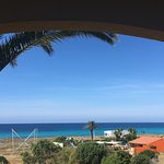 Sea view from hotel and the beautiful son bou beach