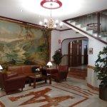 Elegant foyer of Hotel Marina Victoria