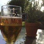 Cold Italian beer, super spot!