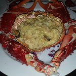 Centoyo (Large Crab) in a cheese sauce - Excellent!!!