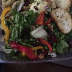 Salad bar to go! Best salad bar around. Plenty of toppings and it's always fresh.