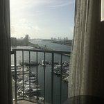 Room 1104 view of Venetian Causeway (looking east)