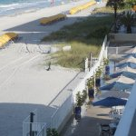 Balcony View of Pool Deck and Beach