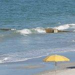 Erosion control on beach