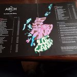 A wide selection of Scotch Whisky!! And a great map of the Whisky regions.