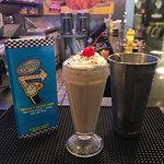 Try one of our hand-spun milkshakes today featuring over 10 flavor choices!